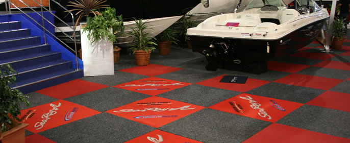 Mats R Us Branded Floor Mats And Rugs Exhibition Mats