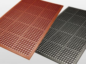 Anti Fatigue Rubber Matting with Drainage Holes