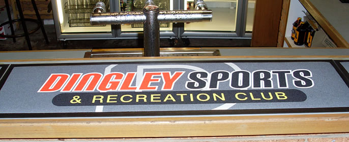 Custom Logo Bar Mats & Custom Logo Bar Runners